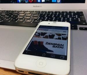 Ride.lt pritaikymas mobiliesiems prietaisams