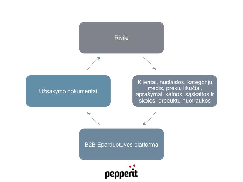 Elektroninė parduotuvė integruoja Rivilės duomenis