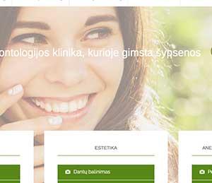 Amicus Dentis tinklapis ir galerijos modulis